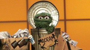 oscar the grouch scram