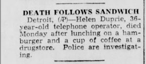 The_Escanaba_Daily_Press__Escanaba__MI__4_May_1948__Tue__death_of_Helen_Duprie_at_age_36