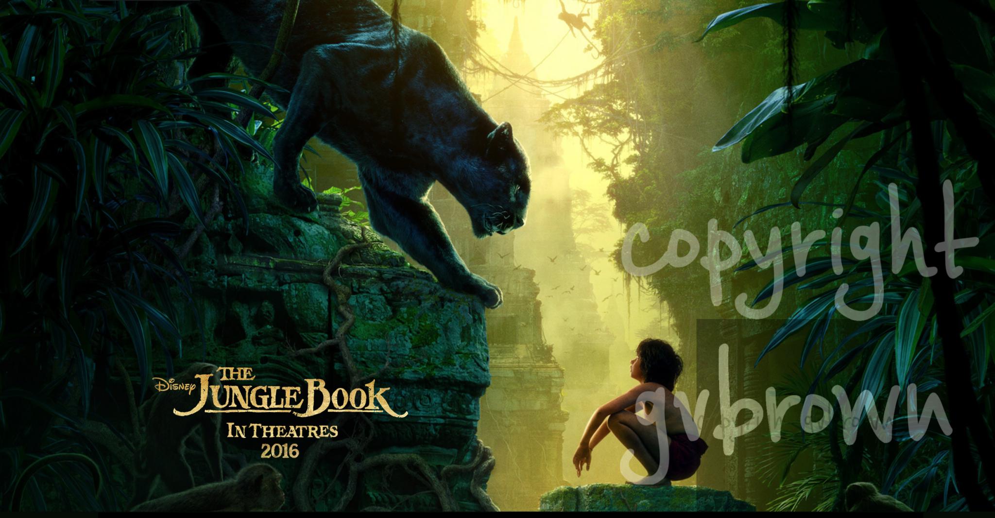 The Jungle Book Movie Trailer!